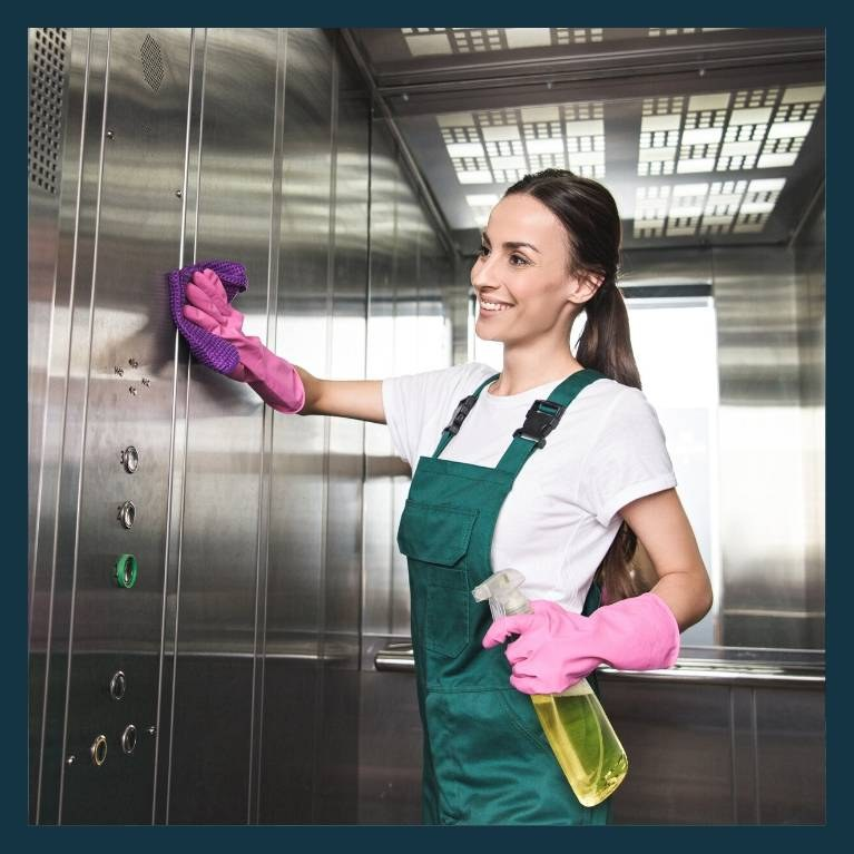 cleaning you r commercial elevator
