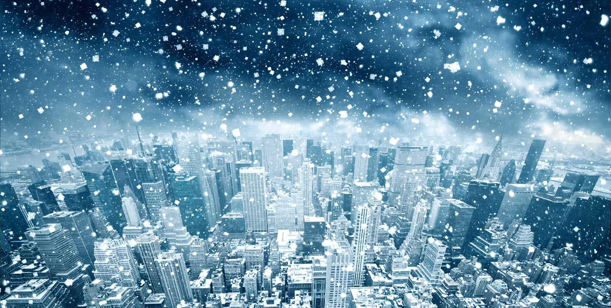 Snow storm over New York city, is your elevator ready for winter?