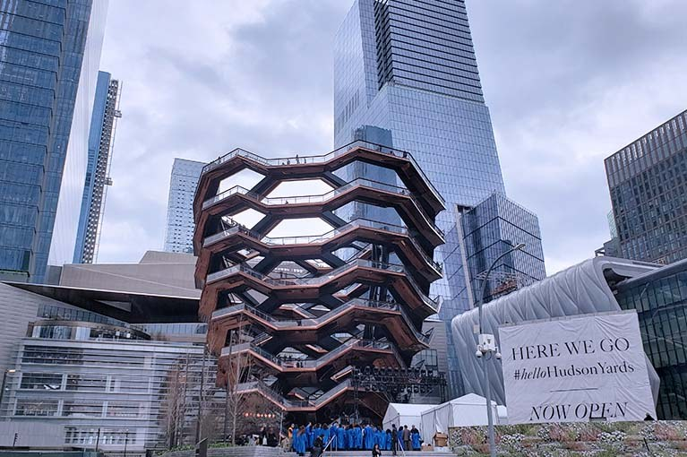 The Vessel at Hudson Yards grand opening