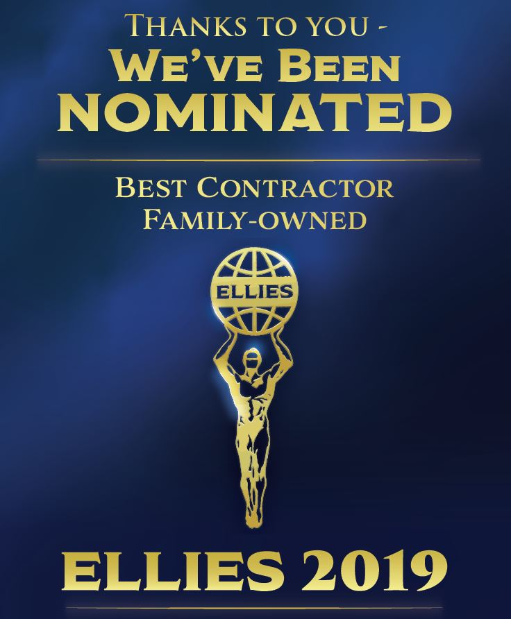 Liberty Elevator is nominated for best family owned contractor