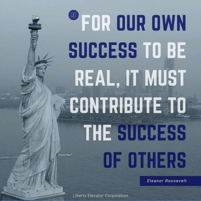 Liberty Elevator Mission, Vision & Values. For our success to be real it must contribute to the success of others